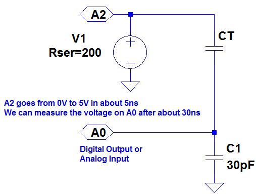 Capacitance measurement with the Arduino Uno | PIC Tutorials