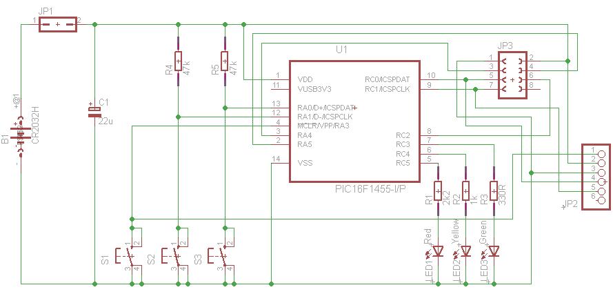 nRF24L01 Test board PCB | PIC Tutorials